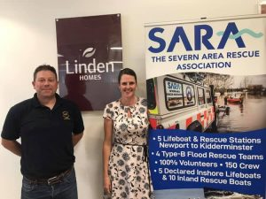 Linden Homes chooses SARA as Charity of the Year | Severn